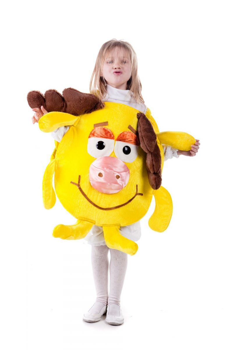 Лосяш «Смешарики» карнавальный костюм для мальчика