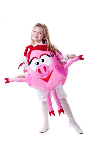 Нюша «Смешарики» карнавальный костюм для девочки