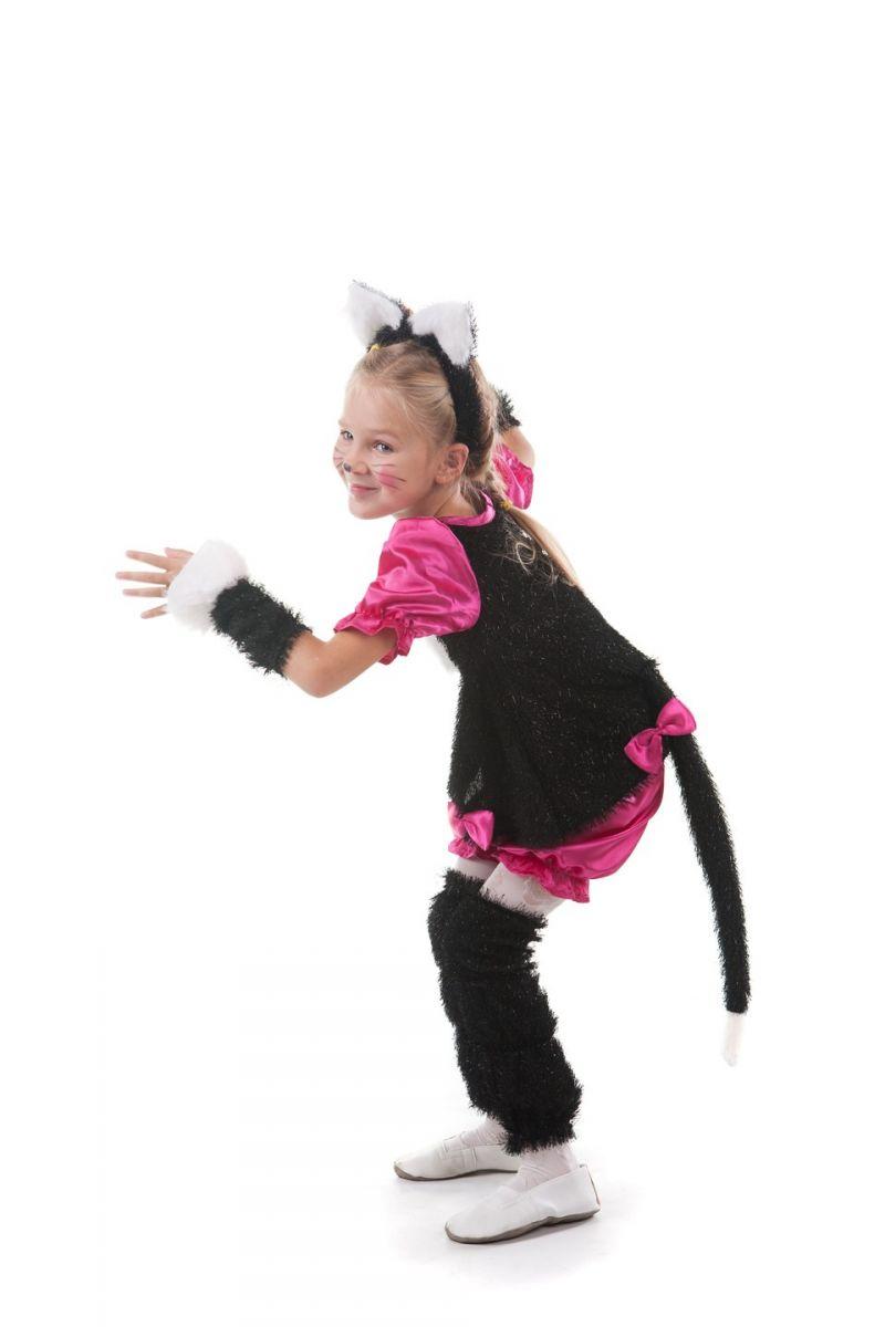 «Кошечка с ушками» карнавальный костюм для девочки