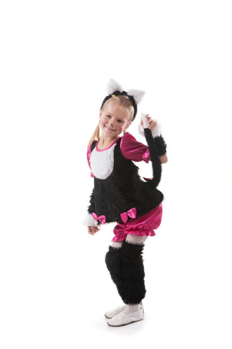 Масочка - «Кошечка с ушками» карнавальный костюм для девочки / фото №391