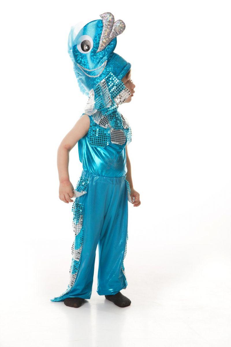 Масочка - «Рыбка» карнавальный костюм для мальчика / фото №400