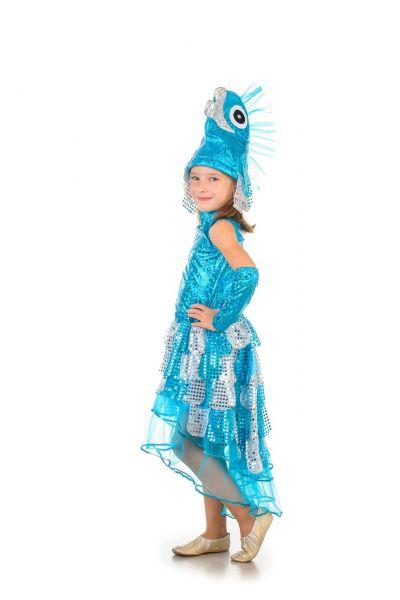«Рыбка со шлейфом» карнавальный костюм для девочки