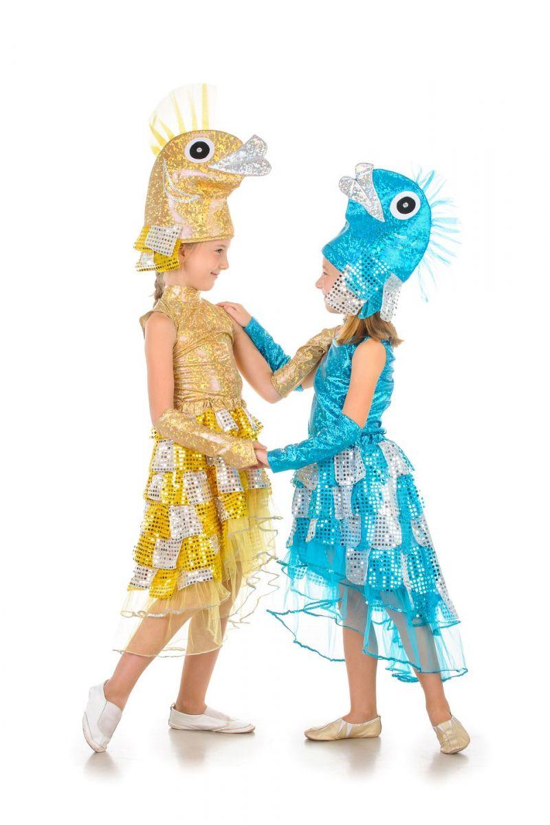 Масочка - «Рыбка со шлейфом» карнавальный костюм для девочки / фото №403