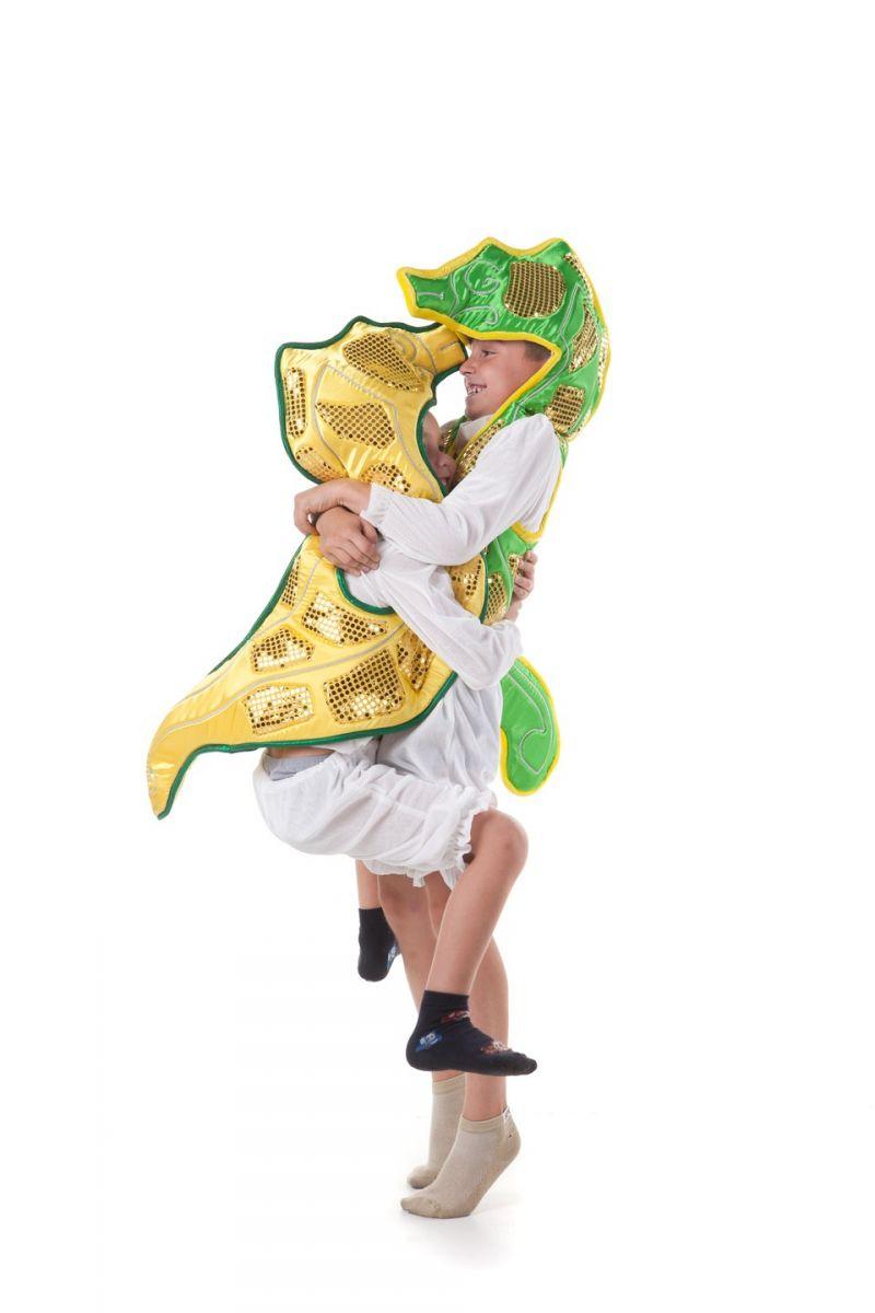 Масочка - «Морской конек» карнавальный костюм для детей / фото №406