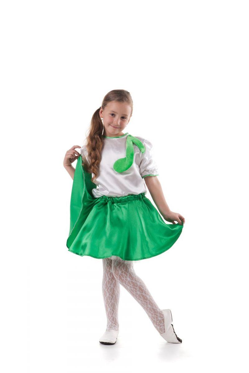 Масочка - «Нотка» Карнавальный костюм для девочки / фото №409