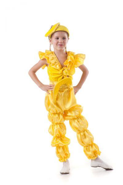 «Банан» карнавальный костюм для девочки
