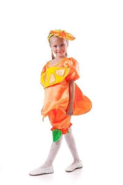 «Апельсин» карнавальный костюм для девочки