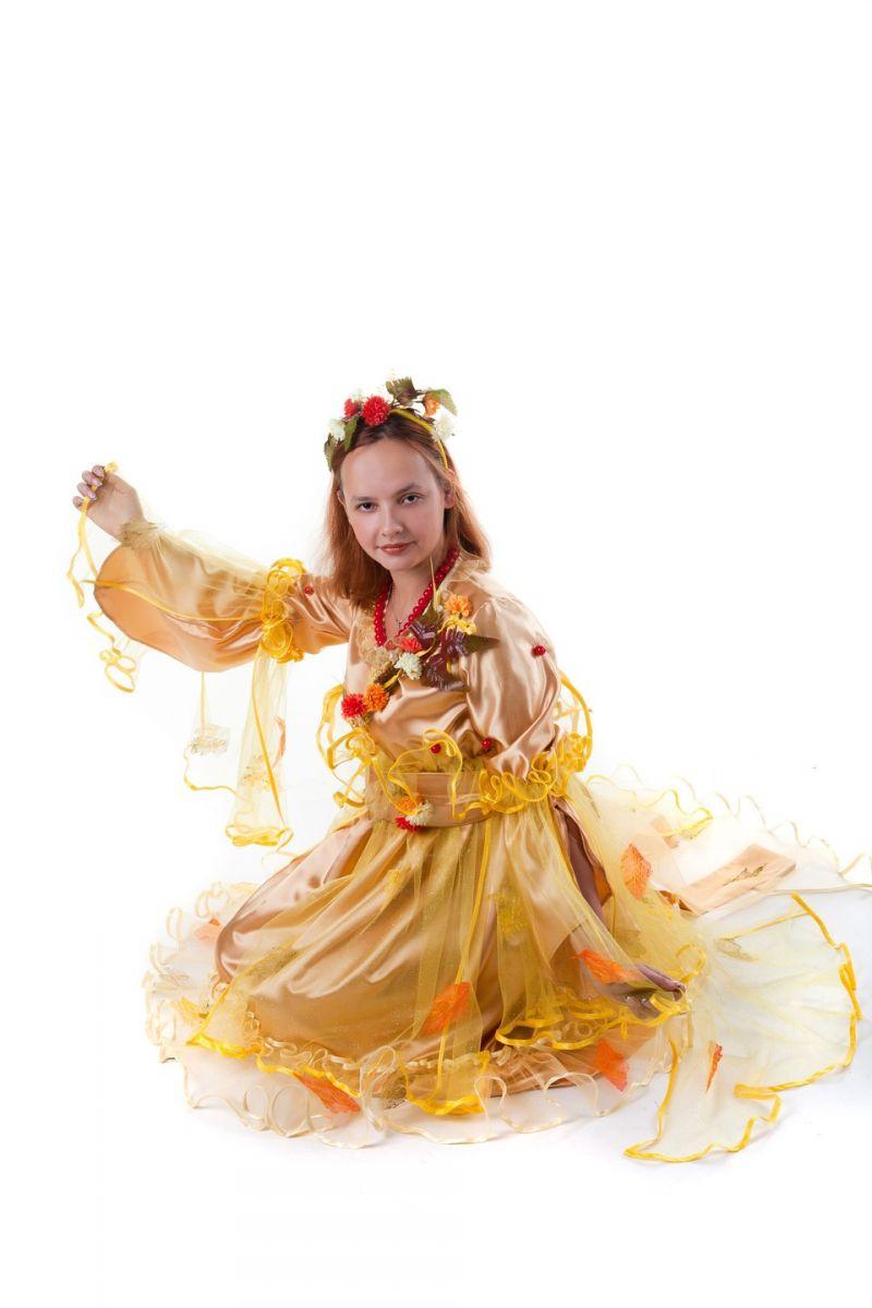 «Осень» карнавальный костюм для взрослых - Масочка