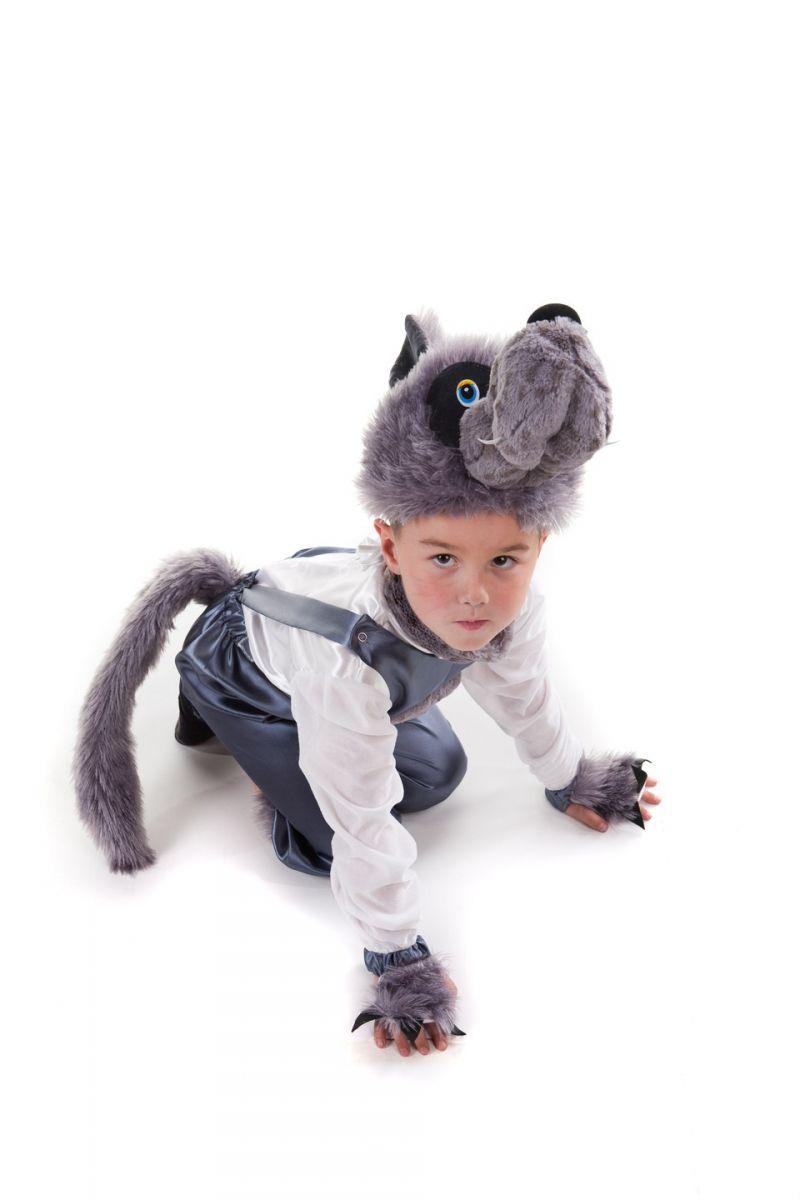 Масочка - «Волчонок» карнавальный костюм для мальчика / фото №444