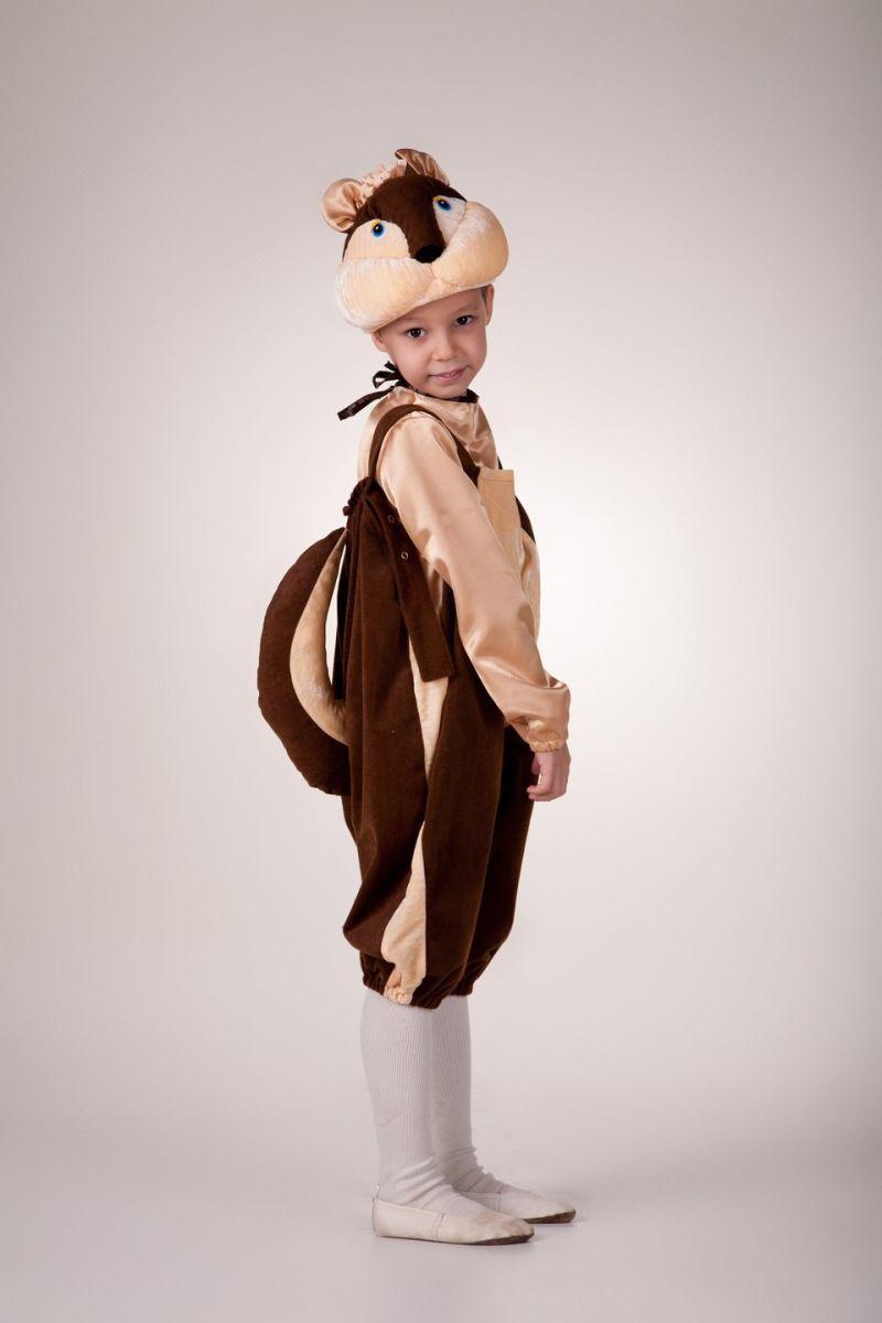 «Бурундук» карнавальный костюм для мальчика