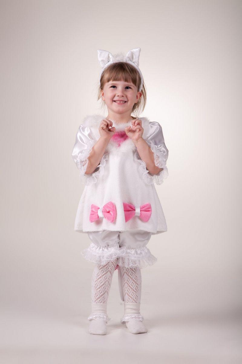 «Кошка белая» карнавальный костюм для девочки