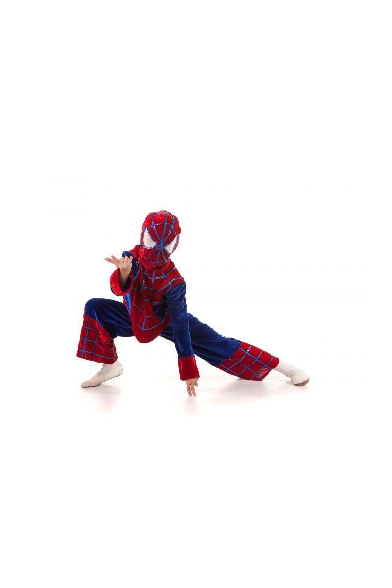 Масочка - «Человек-Паук» карнавальный костюм для мальчика / фото №459