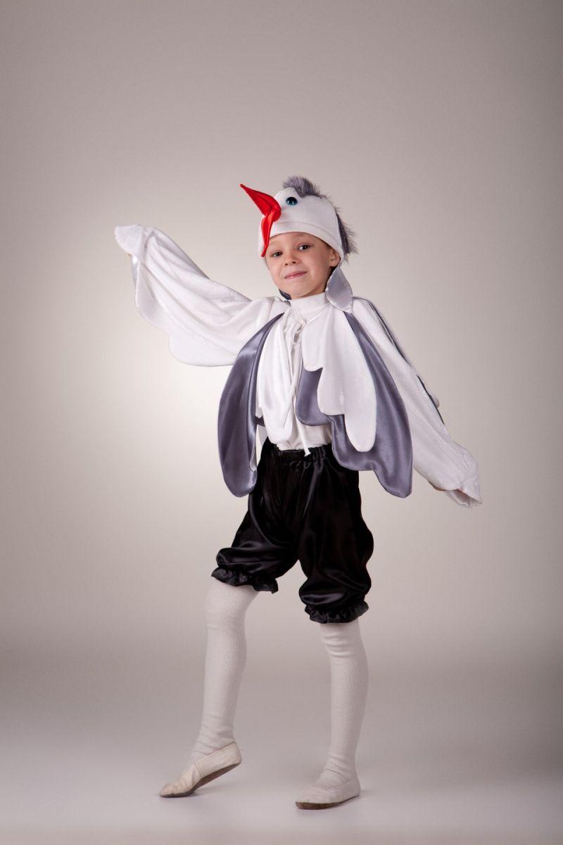 Масочка - «Журавль» карнавальный костюм для мальчика / фото №466