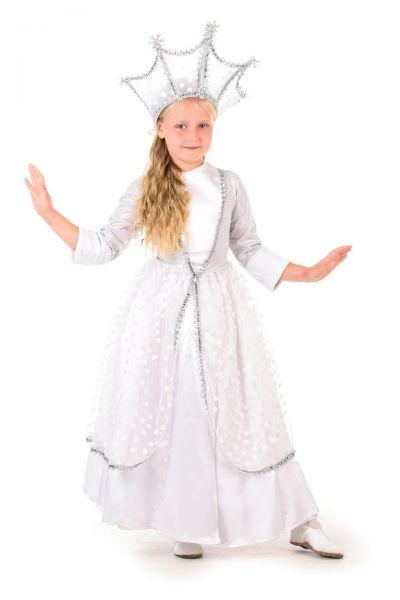 Зимушка-зима «Царская» карнавальный костюм для девочки