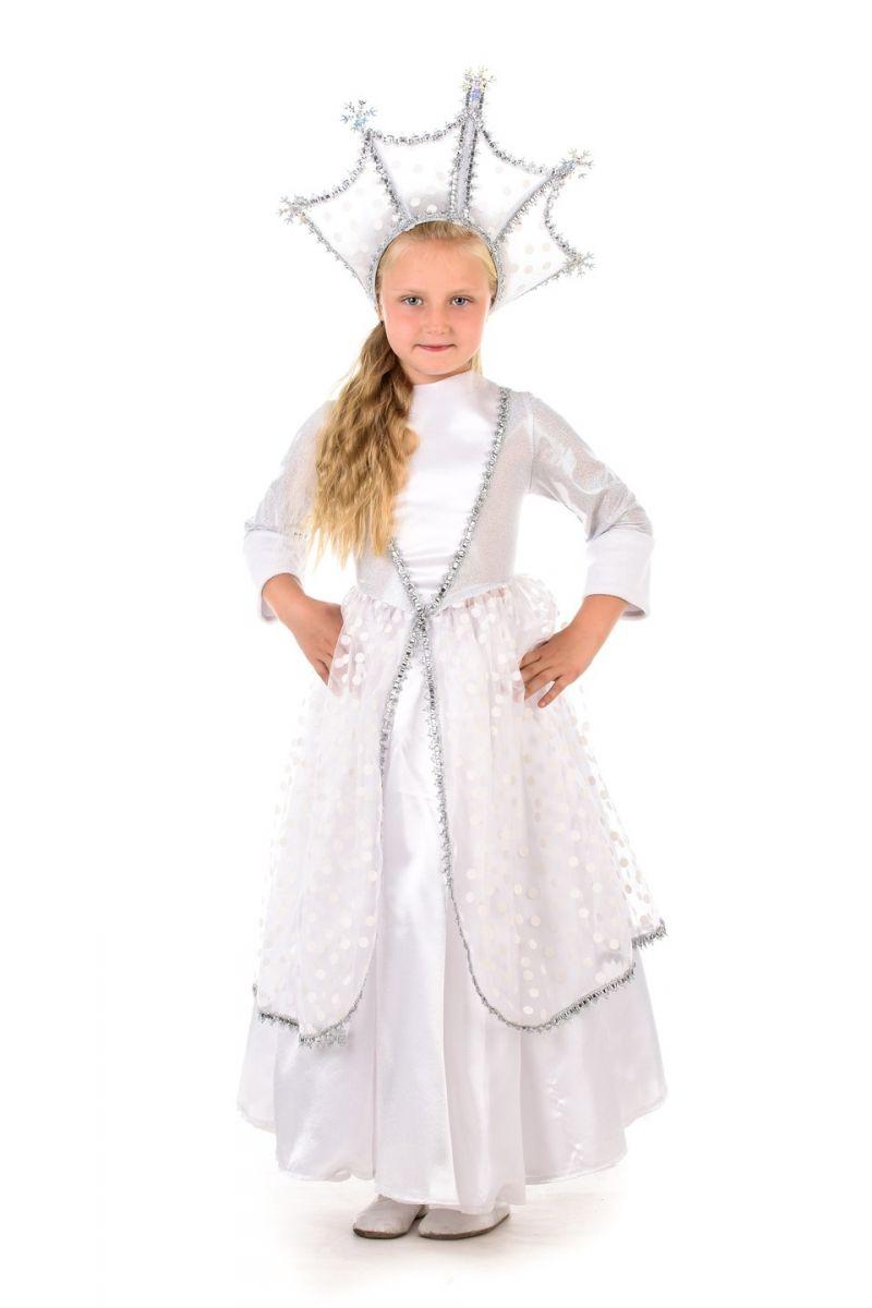 Масочка - Зимушка-зима «Царская» карнавальный костюм для девочки / фото №473