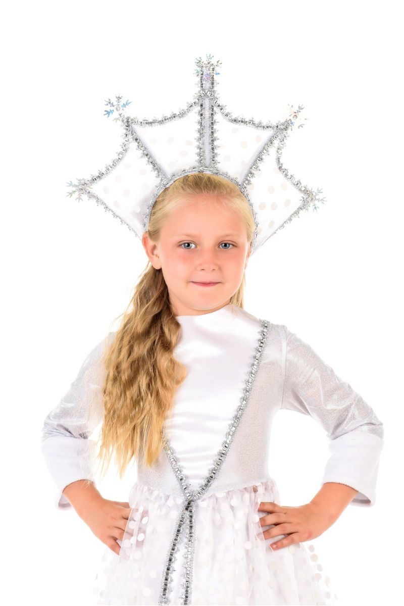 Масочка - Зимушка-зима «Царская» карнавальный костюм для девочки / фото №474