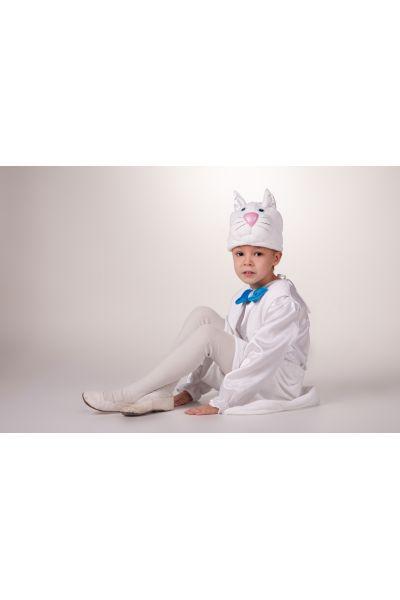 «Кот белый» карнавальный костюм для мальчика