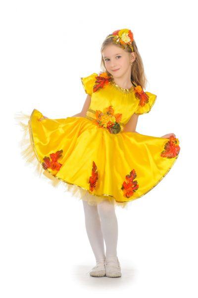 «Осенняя сказка» карнавальный костюм для девочки