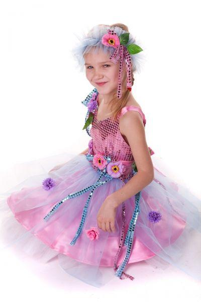 «Фея цветов розовая» карнавальный костюм для девочки