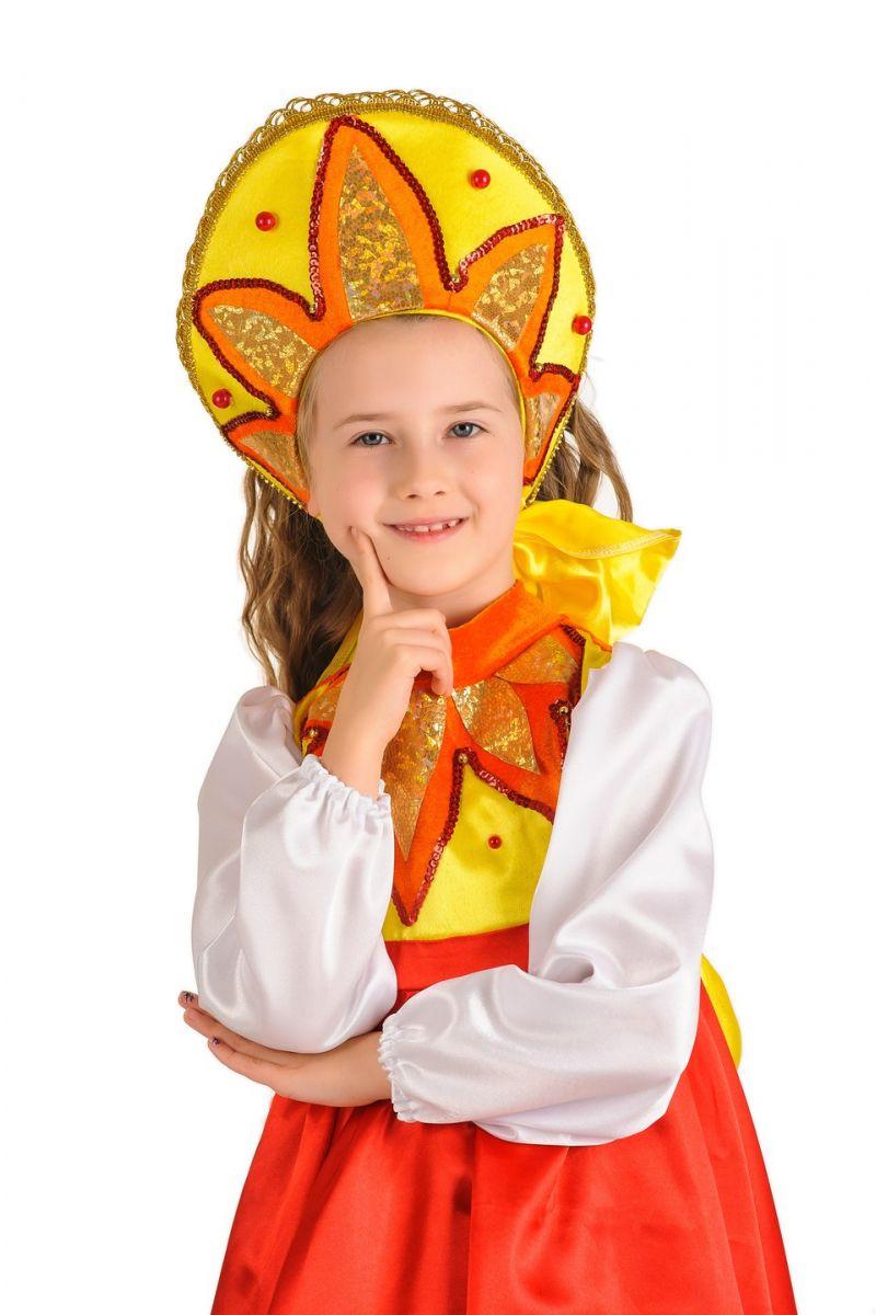 Масочка - «Солнышко» карнавальный костюм для девочки / фото №503