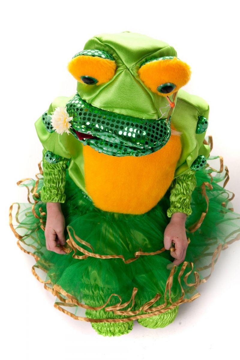 Масочка - «Царевна-лягушка» карнавальный костюм для девочки / фото №515