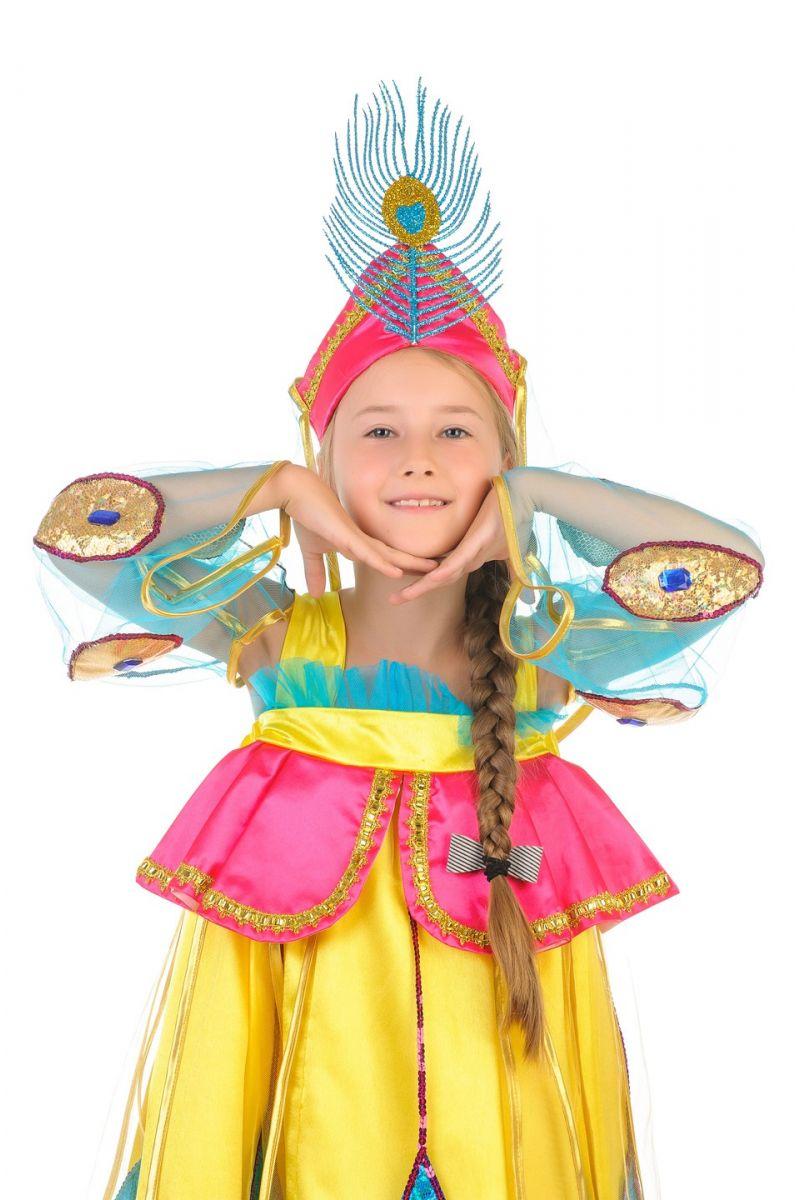 Масочка - «Жар-птица» карнавальный костюм для девочки / фото №522