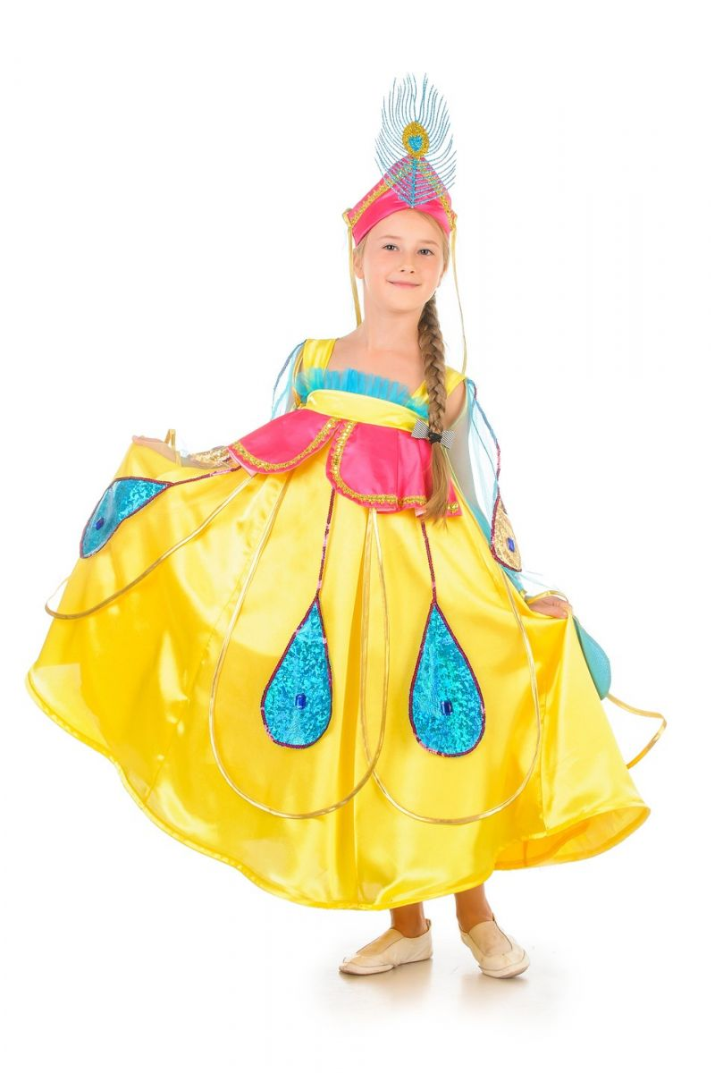 Масочка - «Жар-птица» карнавальный костюм для девочки / фото №523
