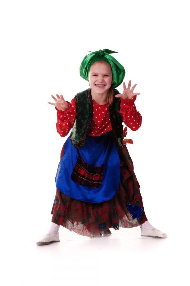 «Баба-Яга» карнавальный костюм для девочки