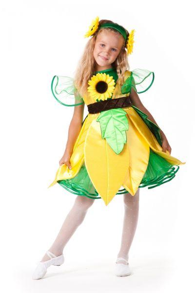 «Подсолнух» карнавальный костюм для девочки