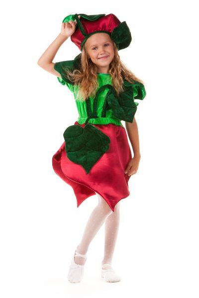 «Свекла» карнавальный костюм для девочки