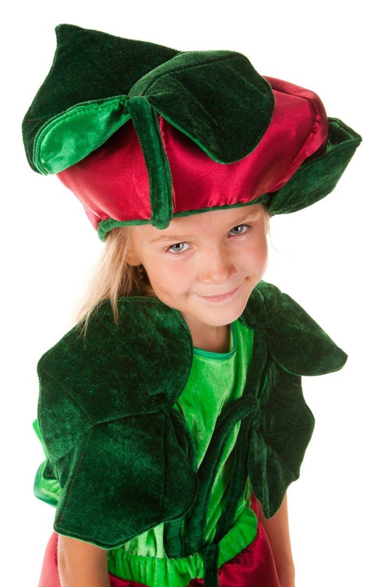 Масочка - «Свекла» карнавальный костюм для девочки / фото №573