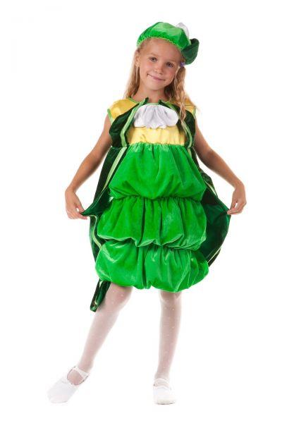 «Фасоль» карнавальный костюм для девочки