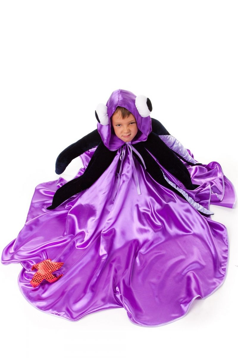 Масочка - «Осьминог» карнавальный костюм для мальчика / фото №579