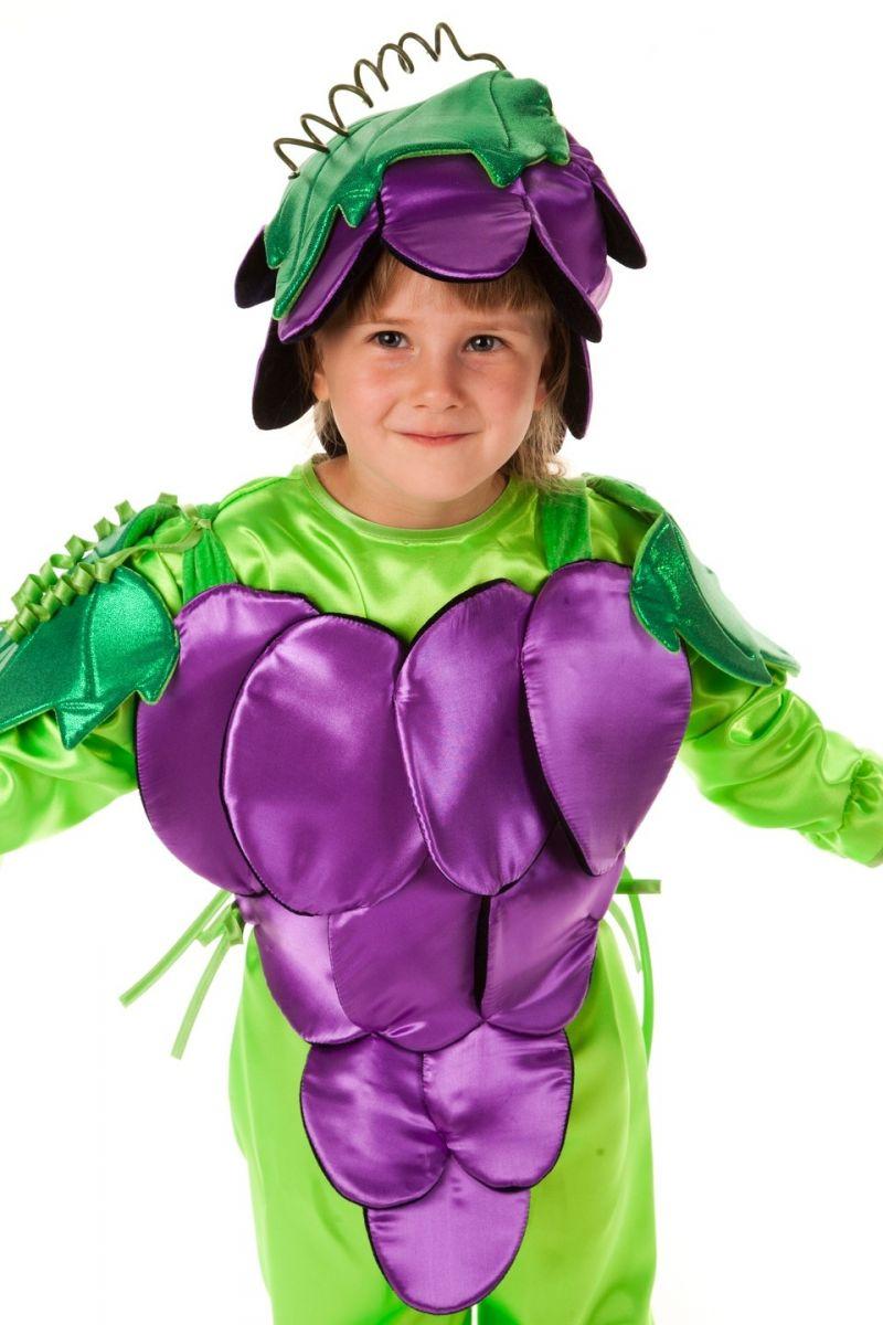 Масочка - «Виноград» карнавальный костюм для детей / фото №581