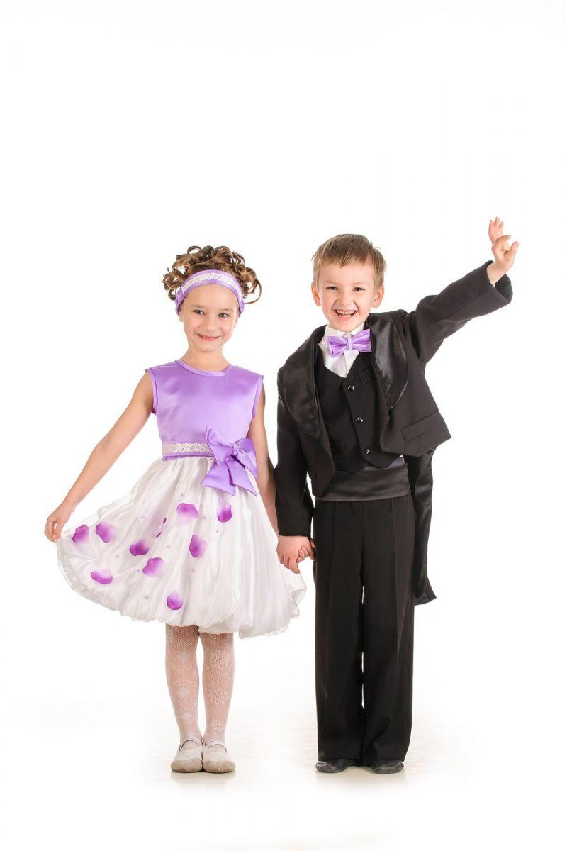 Масочка - Черный фрак нарядный костюм для мальчика / фото №586