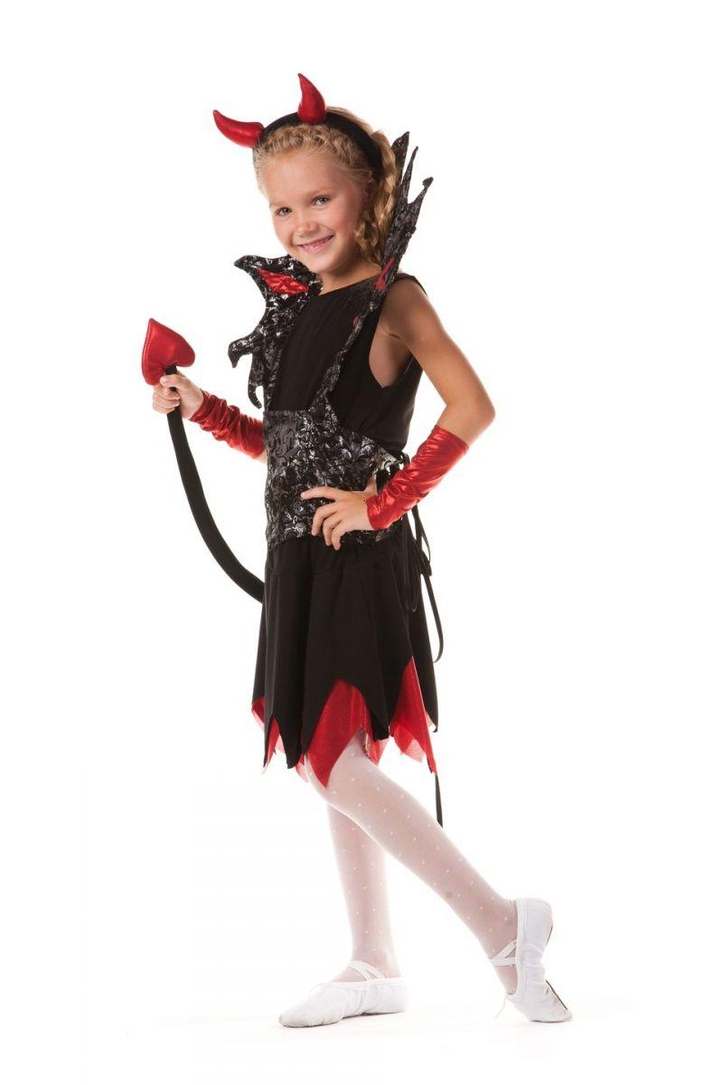 Масочка - Чертовка «Роковая» карнавальный костюм для девочки / фото №595