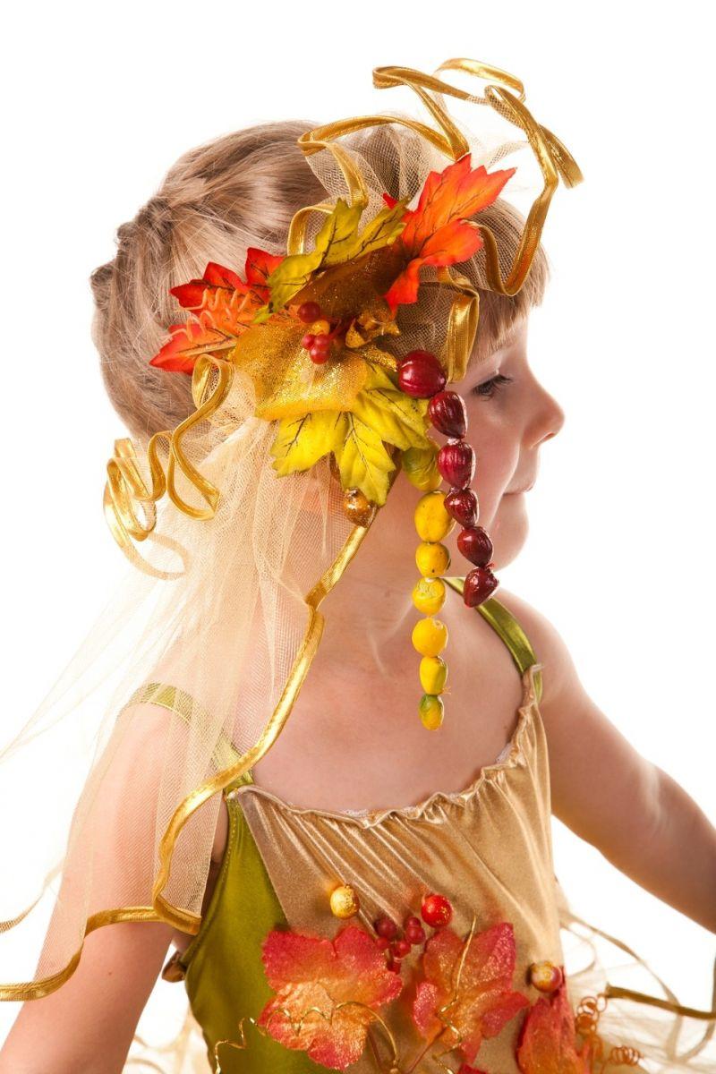 Масочка - «Золотая осень» карнавальный костюм для девочки / фото №599