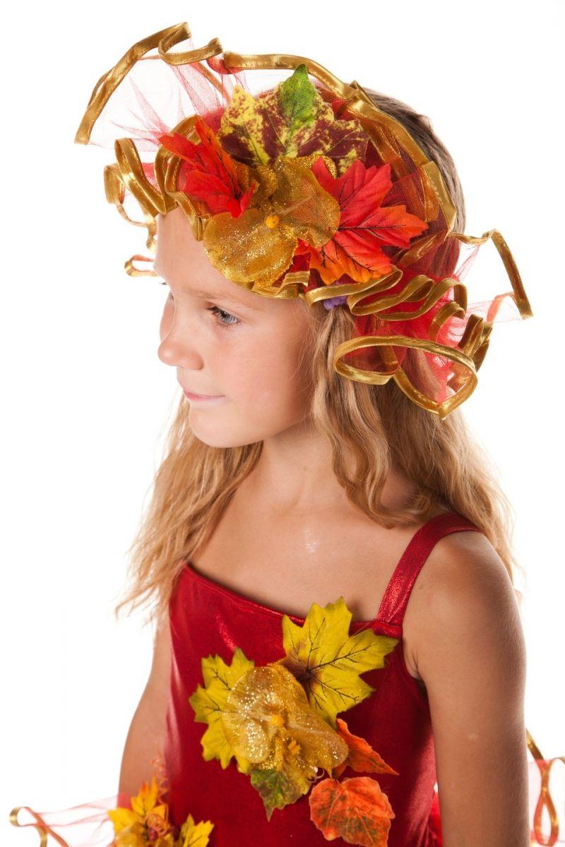Масочка - «Осень багряная» карнавальный костюм для девочки / фото №602
