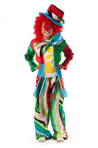 Клоун «Кузя» карнавальный костюм для мальчика