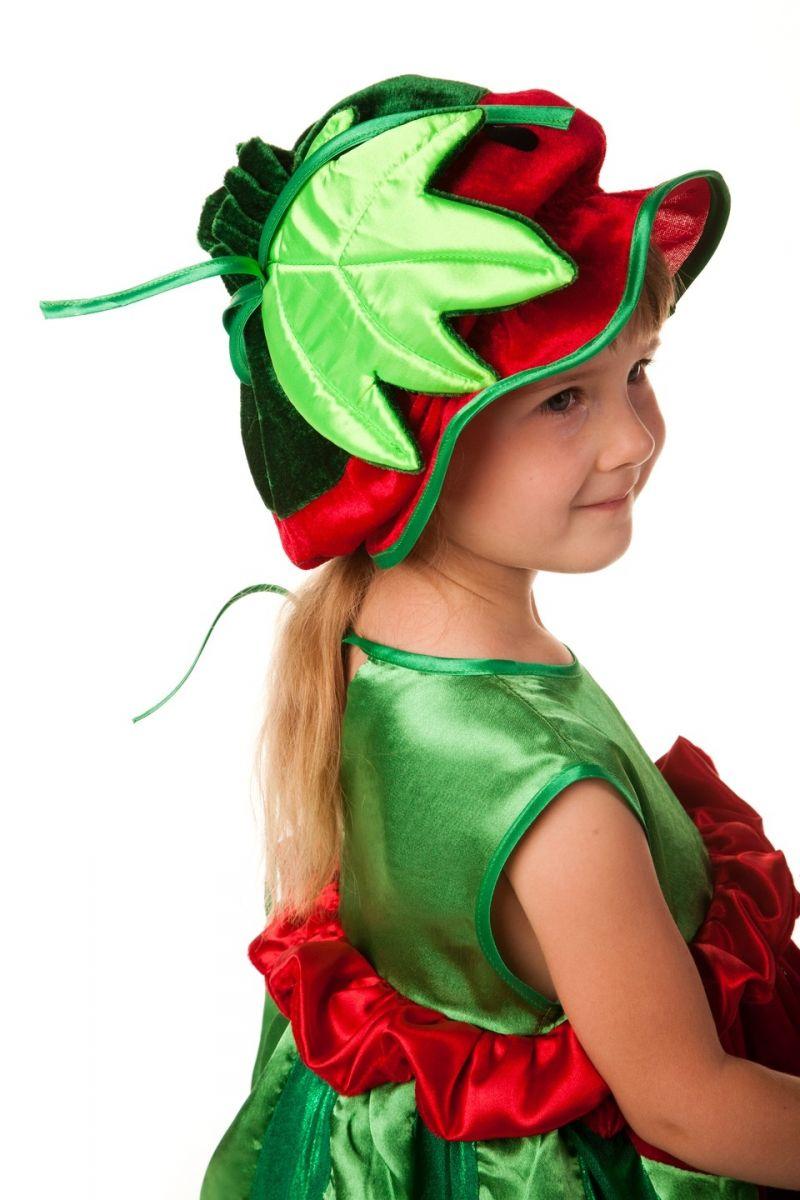 Масочка - «Арбузик» карнавальный костюм для девочки / фото №606