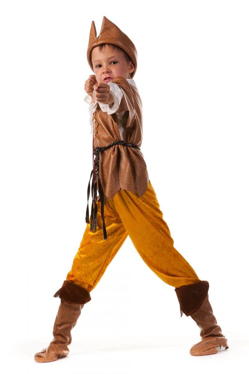 Масочка - «Робин Гуд» карнавальный костюм для мальчика / фото №610