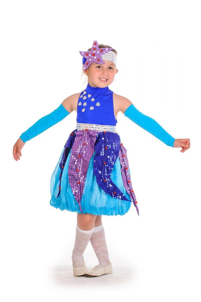 Масочка - «Морская звездочка» карнавальный костюм для девочки / фото №622