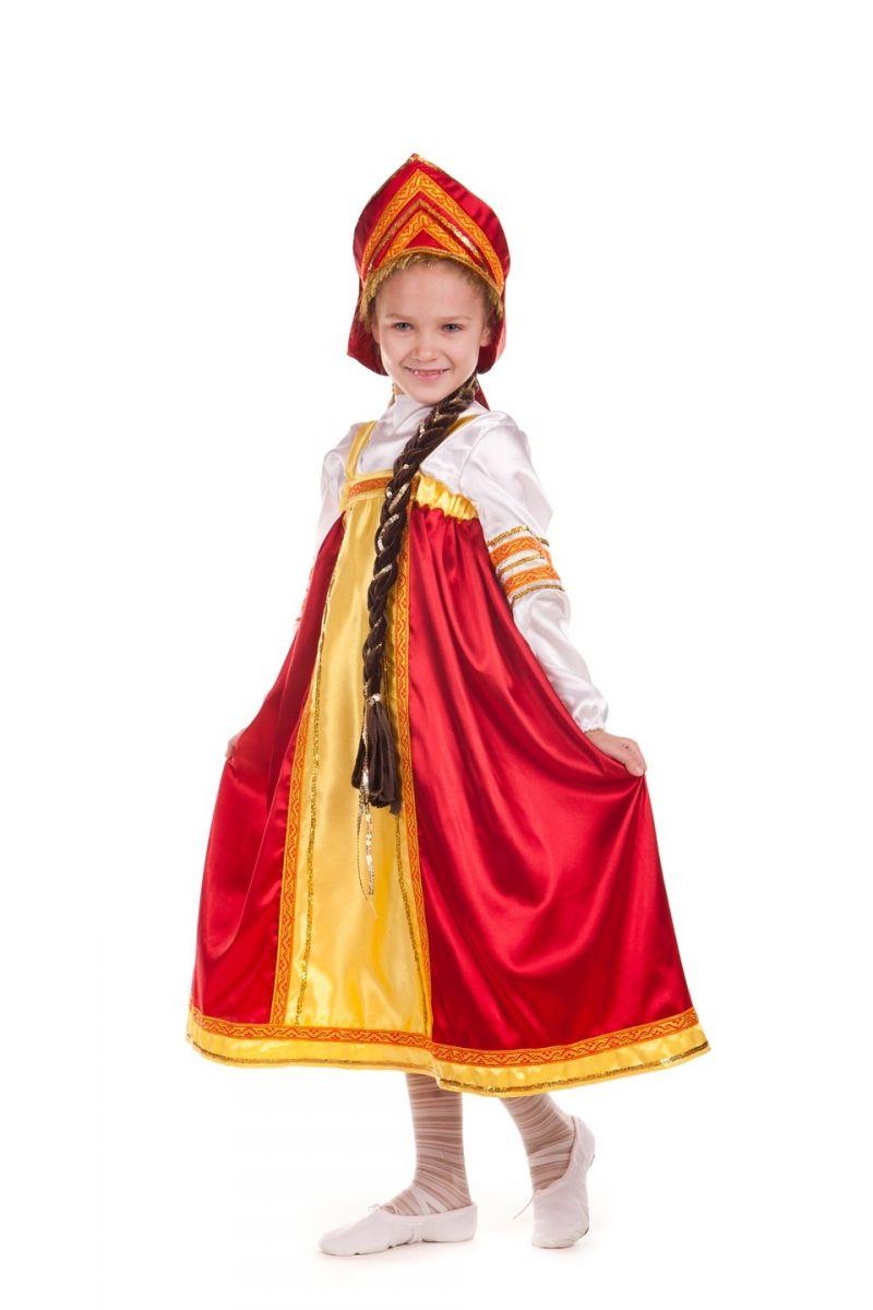 «Василиса Прекрасная» карнавальный костюм для девочки