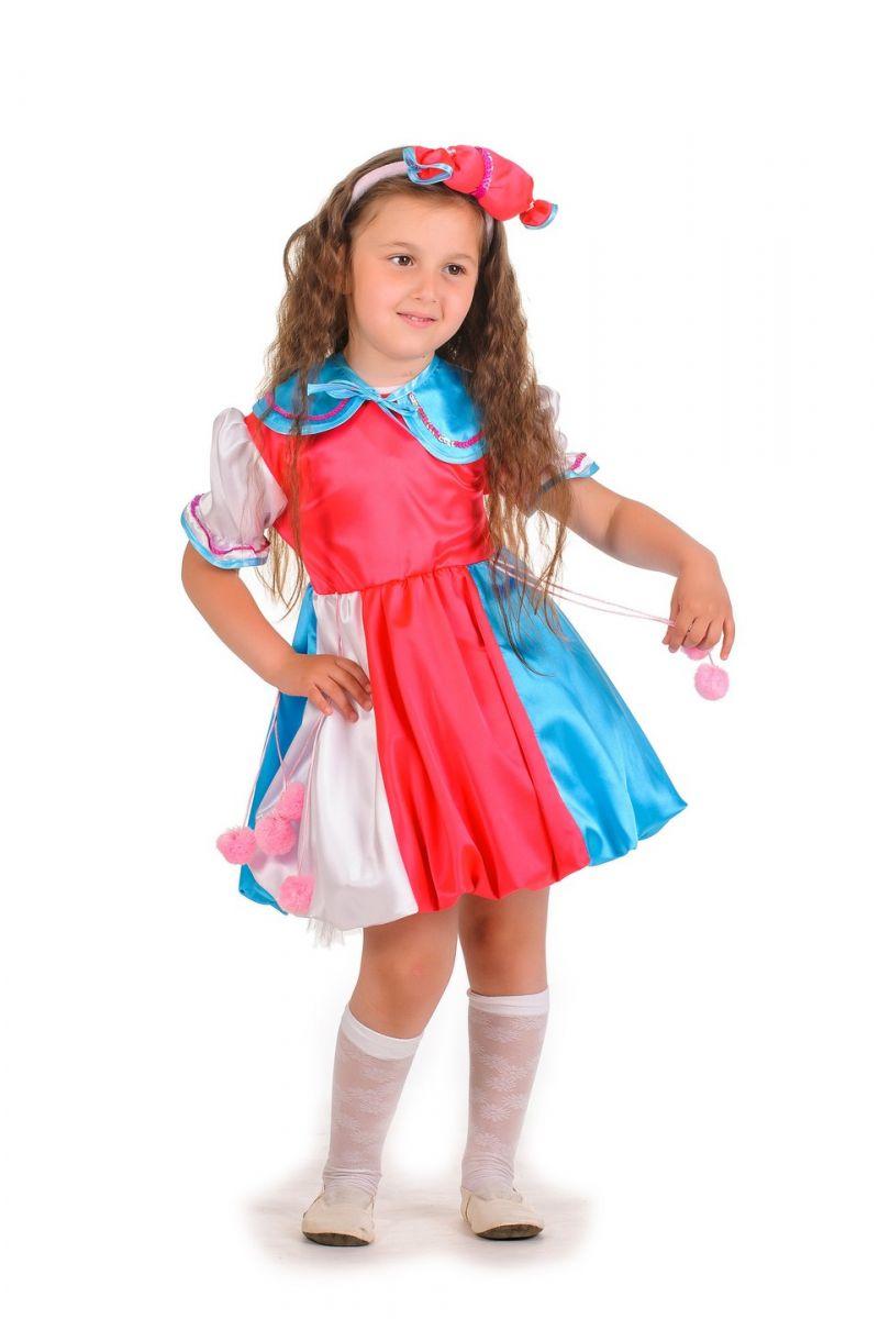 Масочка - «Конфетка розовая» карнавальный костюм для девочки / фото №628