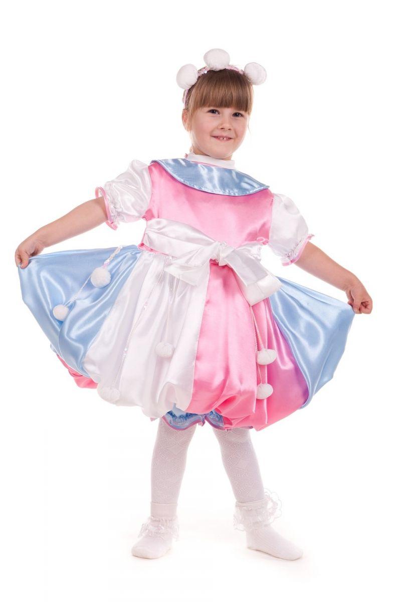 «Бусинка» карнавальный костюм для девочки