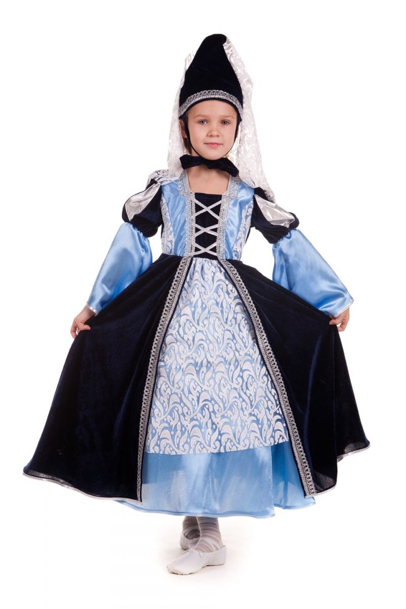 Принцесса «Готическая» карнавальный костюм для девочки