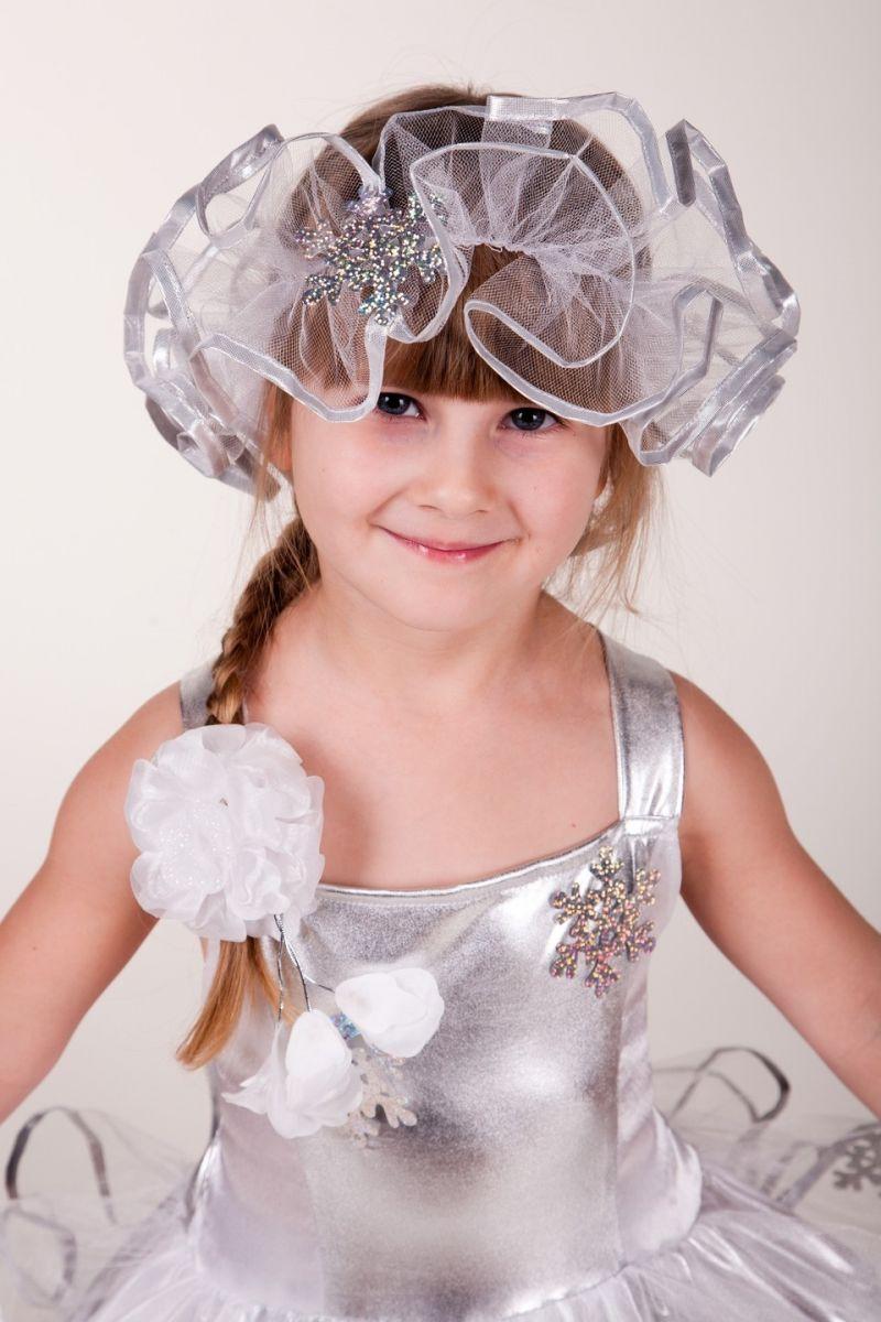 Масочка - Снежинка «Серебро» карнавальный костюм для девочки / фото №648