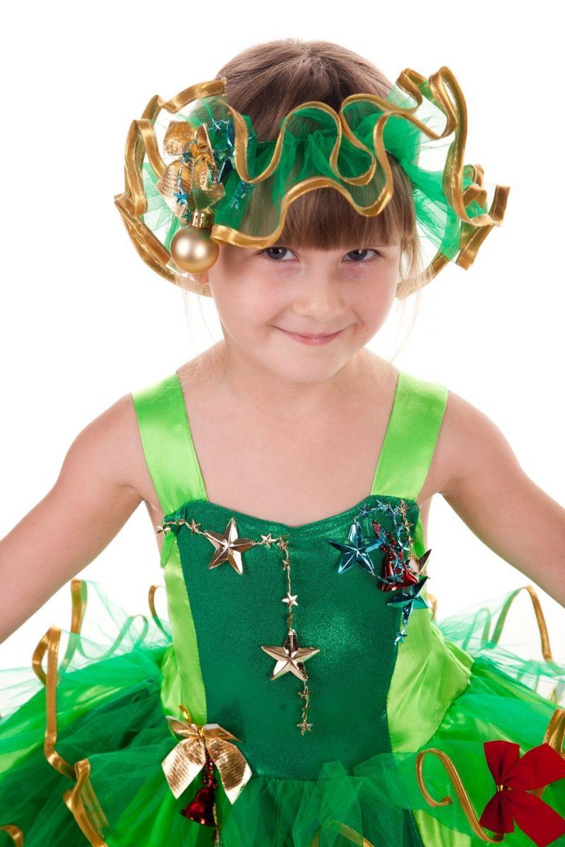 Масочка - Елочка «Золото» карнавальный костюм для девочки / фото №653