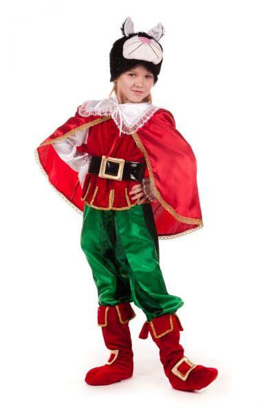 «Кот в сапогах» карнавальный костюм для мальчика