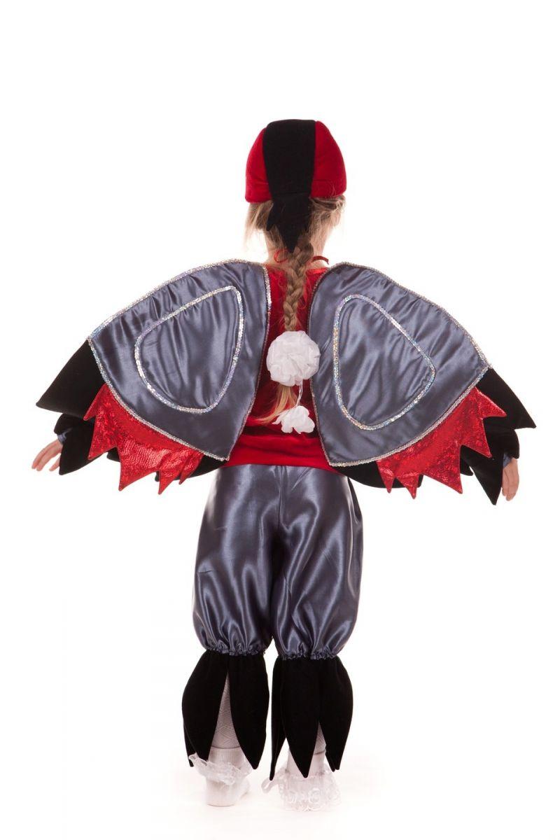 Масочка - «Снегирь» карнавальный костюм для мальчика / фото №668